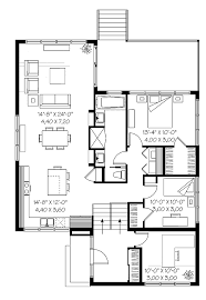 modified bi level house plans alberta