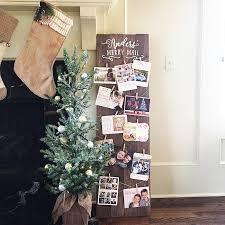christmas holders merry mail oversized 48 x 14 custom plank wood christmas card
