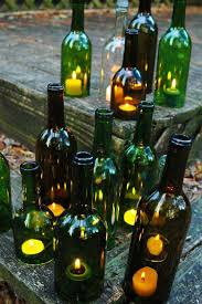 Outdoor Decorating Ideas by 19 Sustainable Diy Wine Bottle Outdoor Decorating Ideas