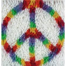 peace latch hook kit for caron latch hook rug kits at