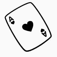 coloriage jeux de carte