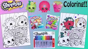 shopkins crayola coloring pages sharpie season 1 2 3 u0026 4