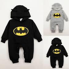 3 24months baby boys infant cartoon batman cotton bodysuit