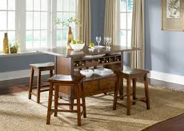 bar table with storage base wine storage bar table dining room set kitchen furniture dining room