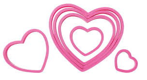 6pc wilton heart cookie cutter set only 5 56 shipped super