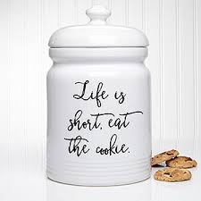 personalized cookie jars kitchen expressions personalized cookie jar