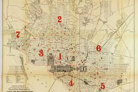 Map Of Downtown Washington Dc by Cornerspotted Police And Fire Call Boxes In Washington D C