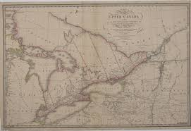 Map Of Quebec Province A Map Of The Province Of Upper Canada Describing All The