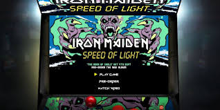 Speedof Light Iron Maiden Launches U0027speed Of Light U0027 Video Game Blabbermouth Net