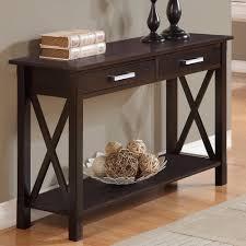simpli home kitchener wayfair quick view kitchener console table