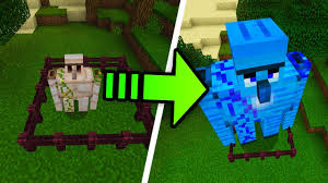 How To Update Your House by How To Upgrade Your Iron Golem In Minecraft Better Together Youtube