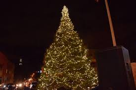 montclair begins the holiday season with a christmas tree lighting
