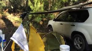 Diy Roof Rack Awning Do It Yourself Car Side Awning Learn How To Make Your Own Youtube