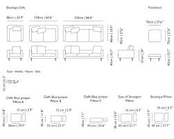 average size of couch typical couch size guen info