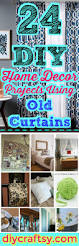 24 diy home decor projects using old curtains diy u0026 crafts