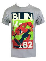 vintage rabbit blink 182 vintage rabbit men s grey t shirt buy online at