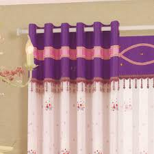 Purple Curtains For Nursery by Baby Nursery Curtains Beaded Lace No Valance