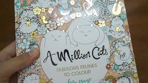 review a million cats fabulous felines to colour youtube