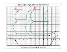 thanksgiving cartesian mayflower 5th 8th grade worksheet