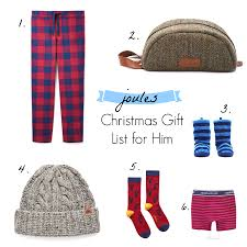 a joules christmas gift list for him wild u0026 grizzly