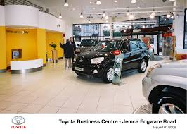 lexus uk jemca toyota business centre network develops to meet market