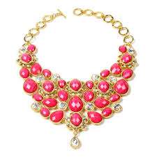 bib necklace gold images Crystal south fork bib necklace shop amrita singh jewelry