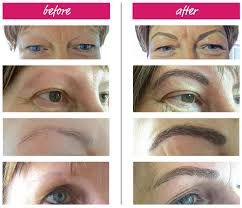 Eyebrow Tattoo Before And After Cosmetic Tattoo Palmerston North Micro Pigmentation Eyebrow
