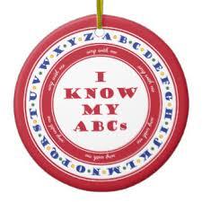 alphabet ornaments keepsake ornaments zazzle