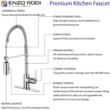 enzo rodi erf7209251ap 10 modern commercial kitchen faucet with