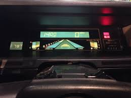 subaru xt 1989 digital dash project archive dmctalk forum a delorean community