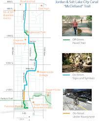 Salt Lake City Map Transportation Jordan And Salt Lake City Canal