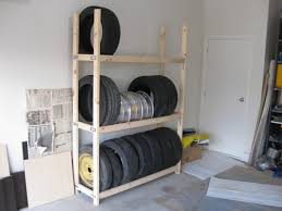 Wooden Kayak Storage Rack Plans by Homemade Tire Rack For The Home Pinterest Tire Rack Storage