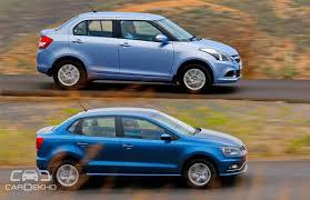volkswagen ameo vs maruti swift dzire which should you buy