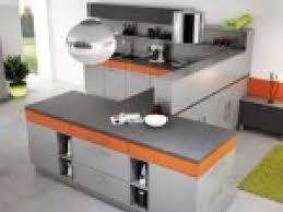cuisine orange et gris photo deco cuisine orange et gris par deco