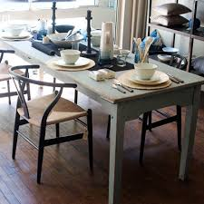 primitive painted country farm table