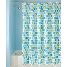 Aqua Blue Shower Curtains Interdesign Rialto 72 Inch By 72 Inch Shower Curtain