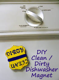 Dirty Clean Dishwasher Magnet Smart N Snazzy Diy Dirty Clean Dishwasher Magnet