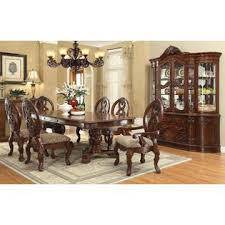 queen anne dining room table cherry