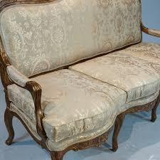 canapé louis xv louis xv canape with cushion jansen furniture
