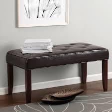 kitchen entryway ideas interior bedroom benches walmart com dorel living camdyn faux