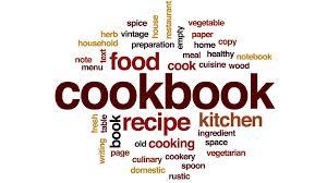 animation cuisine cookbook word cloud text design animation motion