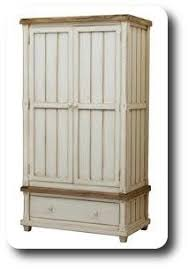 la vie vintage bleu white shabby chic armoire another trash to