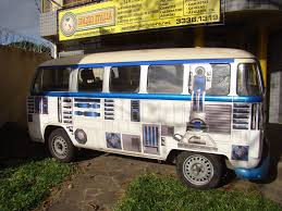 old volkswagen hippie van r2 d2 volkswagen bus takes your next road trip out of this universe