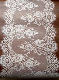 ivory lace table runner 10ft ivory lace table runner 12 white table runners wedding table