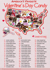 s day m m s america s favorite s day candy by state food wine