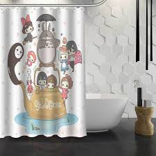 Custom Shower Curtains New Spirited Away Custom Shower Curtain Waterproof Fabric Bath