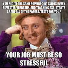 Powerpoint Meme - gene wilder willy wonka job recite powerpoint slides semester