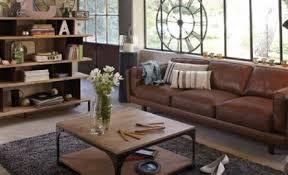 canapé cuir alinea alinéa inspiration vintage pour canapé en promo