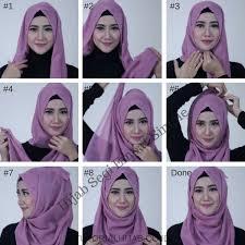tutorial hijab segitiga paris simple tutorial hijab paris simple modis dan elegan lihat disini