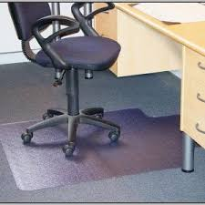 Mat For Under Desk Chair Plastic Mats For Under Desk Chairs Chairs Home Decorating